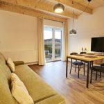 Obývací pokoj apartmánu A25