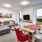 Obývací pokoj apartmánu A3