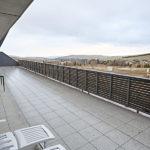Výhled z lodžie apartmánu A3