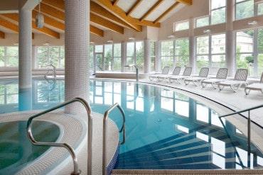 Bazén v Aquacentrum Agricola