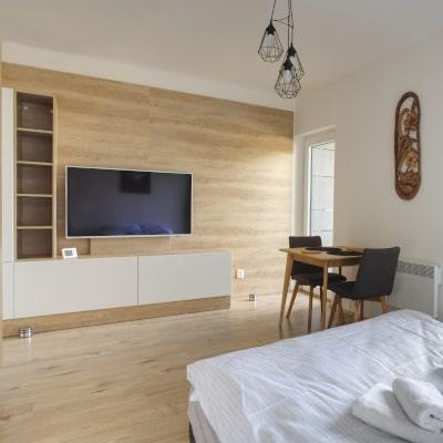 Obývací pokoj apartmánu A7