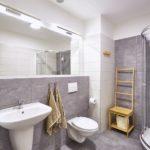 Koupelna se záchodem apartmánu A1